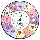 Personalised Heart Clock