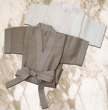 Linen Dressing Gown