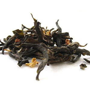 Green Tea With Osmanthus Flowers 125g - teas, coffees & infusions