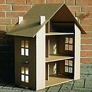 Paperpod Doll's House Brown