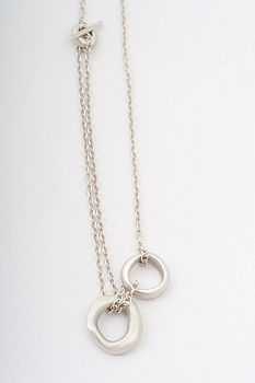 Unity Small Silver Pendant Necklace