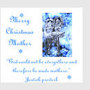 mother, christmas card