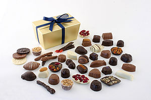 Large Ballotin of Chocolates - food & drink gifts