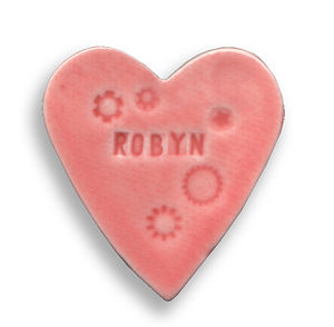 Bespoke Porcelain Heart Magnet - kitchen accessories