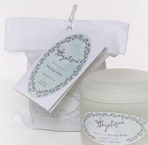 Mother and Baby Massage Balm - bath & body for new mothers