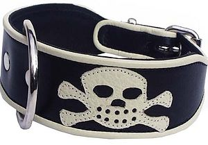 YO HO HO, Pirate Dog Collars as seen in Tamara Drewe
