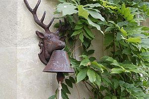Deer Door Bell - art & decorations