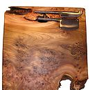 Large Burr Elm Cheeseboard