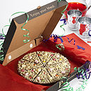 YS chocolate Pizza celebration