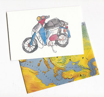 scooter card