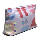 Summer Print PVC Wash Bag