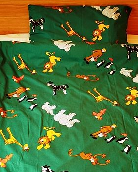 Zoo Animals Duvet Set