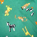 Zoo Animals Fabric Swatch
