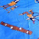 Cowboys Indians Fabric Swatch