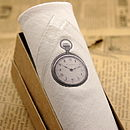 Men's Hanky Clock