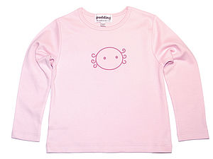 Organic Girly Long-Sleeved T