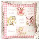 Flower Fairy* Memory Cushion**