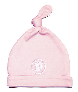Organic Pudding P Badge Beenie - hats, scarves & gloves