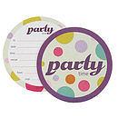party time invitations