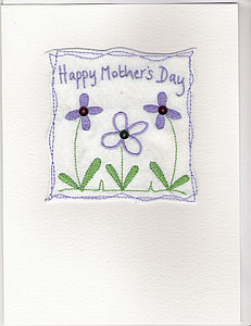 Large Mother's Day Flowers Card