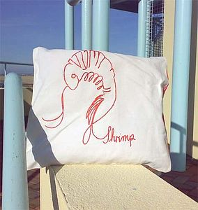 SALE!! Foodie Embroidered Cushions - cushions