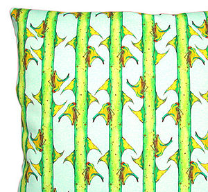 Thorn Bugs: Cushion - patterned cushions