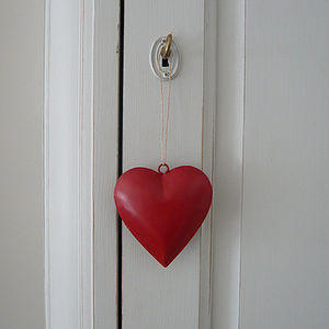 Little Red Heart - hanging decorations