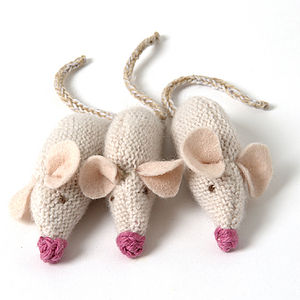 Three Blind Mice - decorative accessories