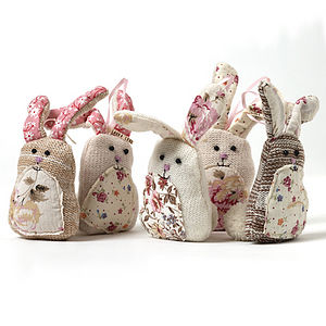 Knitted Rabbit Decoration