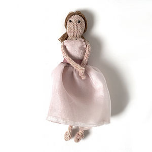 Bridesmaid Doll - flower girl gifts