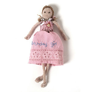 Birthday Girl Doll - soft toys & dolls
