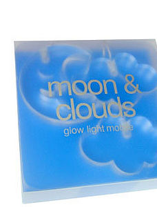 Moon And Clouds Mobile - children's lighting