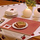 Apple Table Linen Collection