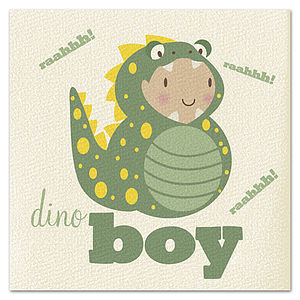 Dinoboy Card - birthday cards