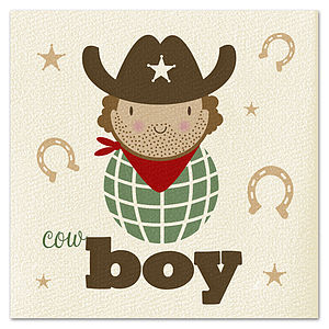 Cowboy Card - birthday cards