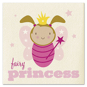 Fairy Princess Card - birthday cards