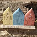 Small Beach Hut Keyholder