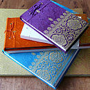 Fair Trade Sari Notepads