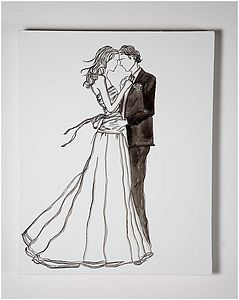Bespoke Wedding Canvas - paintings & canvases