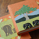 Handcrafted Eco Elephant Dung Notebook