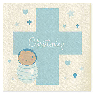 Boys Christening Card - christening cards