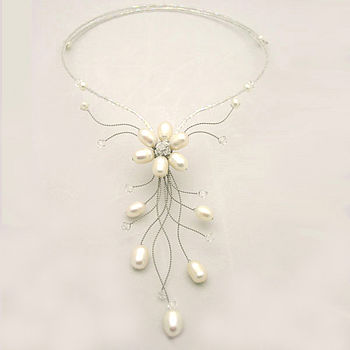 WP Flower Spray Necklace