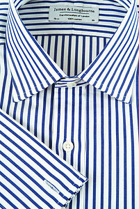 Classic Stripe 100% Poplin Cotton shirt