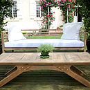 Loire Day Bed and Table