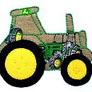 Baby Tractor Close-up