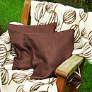 Cushion Chockolate Brown