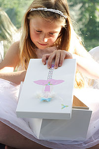 Personalised Ballerina Keepsake Box