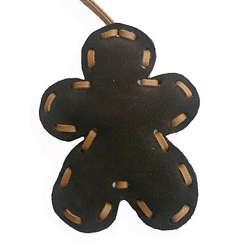 Brn Gingerbread Man Decoration