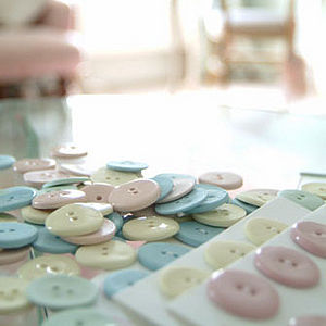 Porcelain Button - sewing & knitting