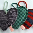 Heart-Shaped Lavender Bag
